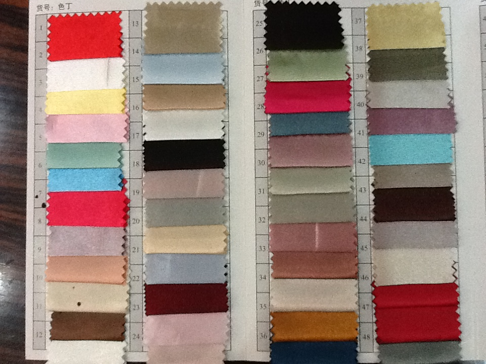 polyester satin fabrics in stock