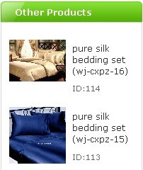 pure silk products